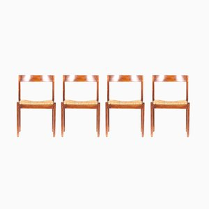 Modernist Dining Chairs by Martin Visser for ´t Spectrum, 1960s, Set of 4