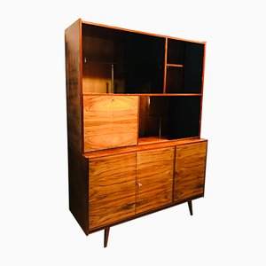 Lacquered Veneer Bar Cabinet, 1960s