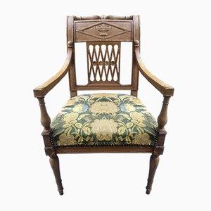 Antique Directoire Armchair, 1790s