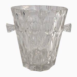 Cubitera para champán de vidrio, años 70