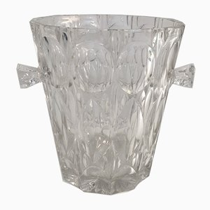 Glass Champagne Bucket, 1970s