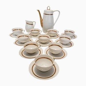 Set da caffè in porcellana Limoges di Alexandre Chastagner, anni '60