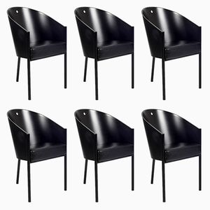 Vintage Armchairs by Philippe Starck for Driade, Set of 6