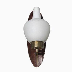 Französische Vintage Wandlampe, 1950er