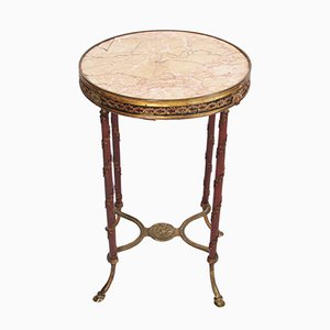 Antique Gueridon with Marble Top