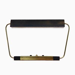 Moderne Schreibtischleuchte aus Metall & Messing von Stilnovo, 1960er