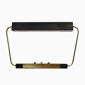Modernist Metal and Brass Desk Light from Stilnovo, 1960s