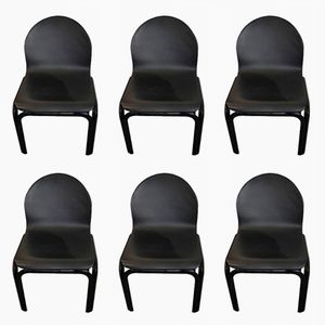 Vintage Orsay Stühle von Gae Aulenti für Knoll, 6er Set