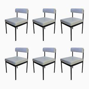 Chaises de Salle à Manger Vintage par Dieter Wäckerlin pour Idealheim, Set de 6