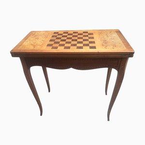 Mesa de juegos estilo Louis XV, años 30