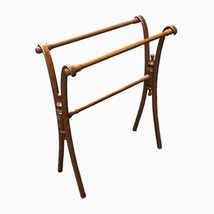 Antique Towel Rack by Michael Thonet
