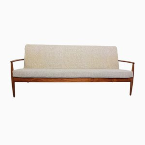 Danish Teak 3- Seater Sofa by Grete Jalk for France & Daverkosen, 1960s