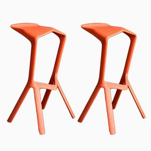Miura Stools by Konstantin Grcic for Plank, 1990s, Set of 2
