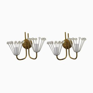 Vintage Sconces by Emil Stejnar for Nikoll, Set of 2