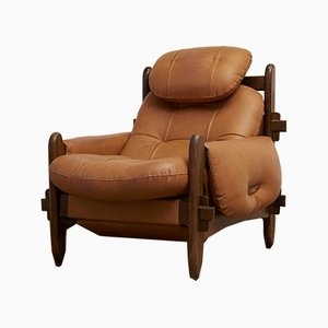 Vintage Brazilian Lounge Chair by Gean Guillon for Probel