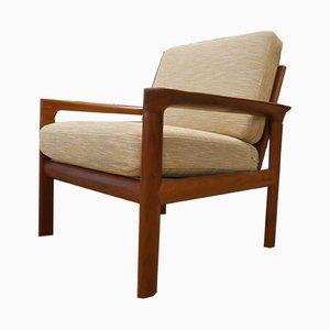 Dänischer Armlehnstuhl aus Teak von Sven Ellekaer für Komfort, 1970er