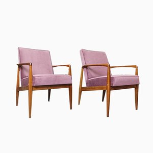 Vintage Danish Armchairs, 1970s, Set of 2