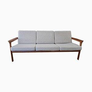 Danish 3-Seater Teak Sofa by Sven Ellekaer for Komfort, 1970s