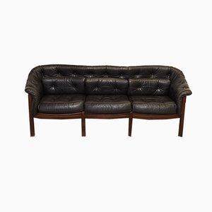 Canapé 3 Places Vintage par Arne Norell pour Coja