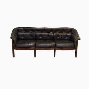 Vintage 3-Seater Sofa by Arne Norell for Coja