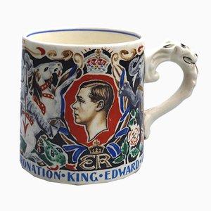 Britische Edward VIII Gedenk-Töpferei von Dame Laura Knight, 1937