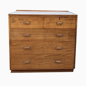 Mid-Century Industrial Chest Of Drawers