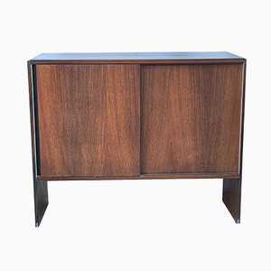 Vintage Rosewood Sideboard on Wheels by Ico & Luisa Parisi for MIM, 1960s