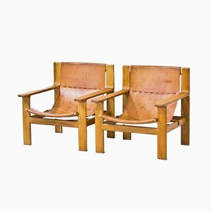Lounge Chairs by Bertil Fridhagen for Bodafors, 1960, Set of 2