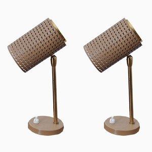 Tischlampen, 1950er, 2er Set