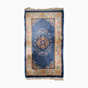 Handgemachter chinesischer Vintage Teppich, 1960er