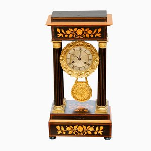 French Portico Mantle Clock, 1890s