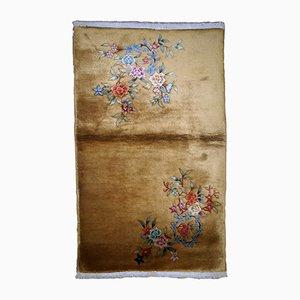 Handmade Art Deco Chinese Rug, 1920s