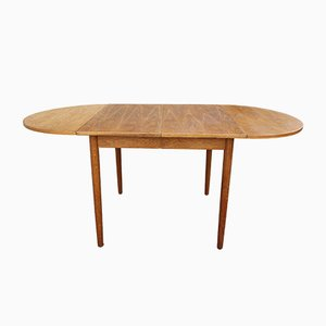French Extendable Oak Table, 1960s