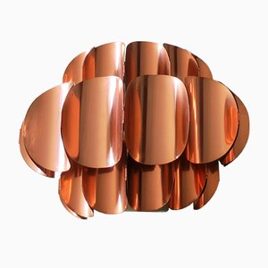 Copper Wall Light by Thorsten Orrling for Temde, 1960s