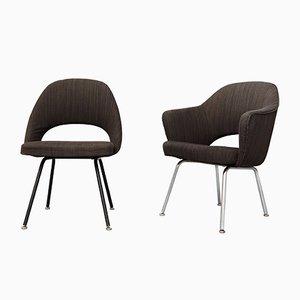 Chaises de Conférence par Eero Saarinen pour Knoll International, 1970s, Set de 2