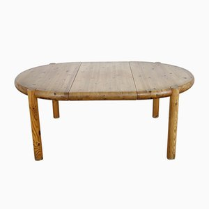 Vintage Pine Extendable Dining Table by Rainer Daumiller for Hirtshals Savvaerk, 1970s