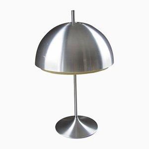Dänische Tischlampe aus Aluminium, 1968