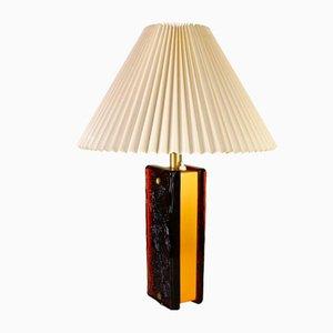 Lampada da tavolo a due luci di Nafa Sweden, anni '60
