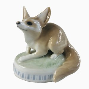 Desert Fox Figurine by Christian Thomsen for Royal Copenhagen, 1900s