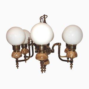 Lámpara de araña estilo Imperio, años 70
