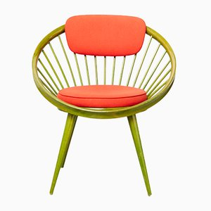 Mid-Century Circle Chair by Yngve Ekström for Swedese