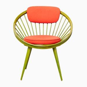 Mid-Century Circle Chair von Yngve Ekström für Swedese
