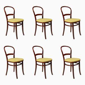 Dänische Vintage Stühle von Fritz Hansen, 1950er, 6er Set
