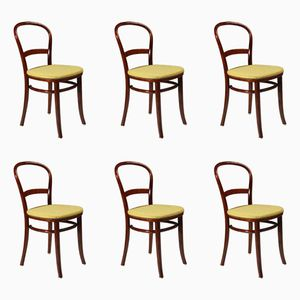 Vintage Danish Chairs from Fritz Hansen, 1950s, Set of 6