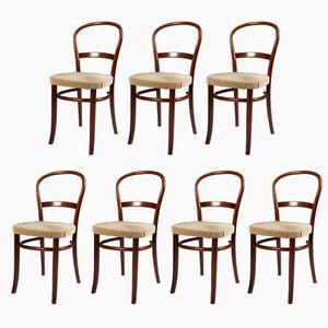 Dänische Vintage Stühle von Fritz Hansen, 1950er, 7er Set