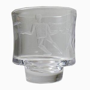 Schwedische Vase von Erik Höglund für Boda, 1950er