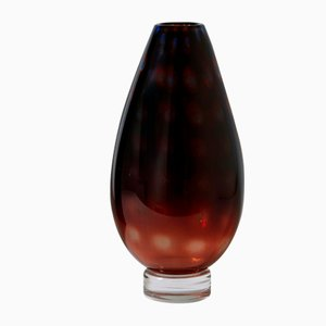 Vase par Vicke Lindstrand pour Kosta, Suède, 1958