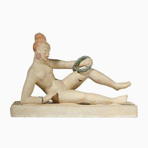 Schwedische Skulptur von Nils Fougstedt, 1930er