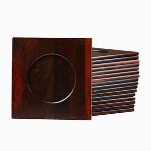 Dänische Untersetzer von Woodline, 1960er, 17er Set