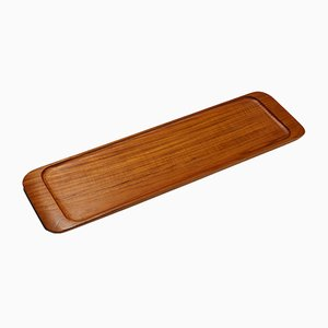 Swedish Wooden Tray by Johnny Mattsson, 1950s